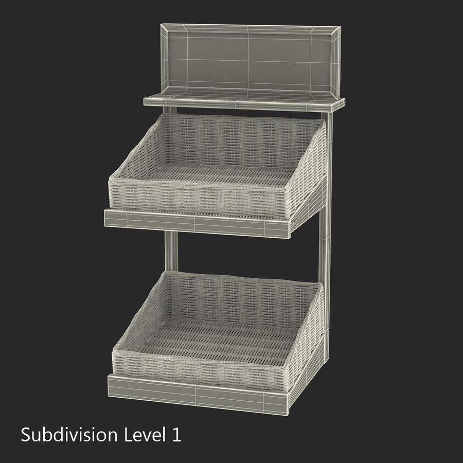 Bakery 3D Models Collection royalty-free 3d model - Preview no. 47