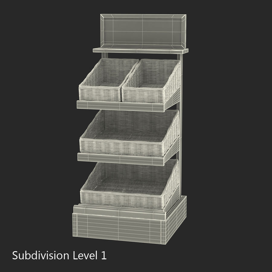 Bakery 3D Models Collection royalty-free 3d model - Preview no. 43