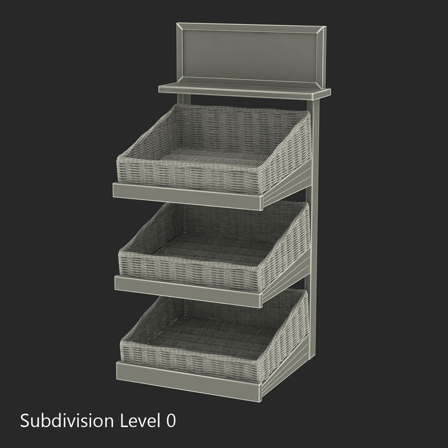 Bakery 3D Models Collection royalty-free 3d model - Preview no. 44