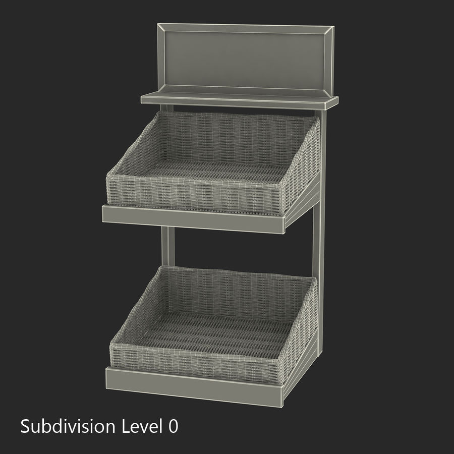 Bakery 3D Models Collection royalty-free 3d model - Preview no. 46