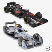 Coleção de modelos 3D de carros de fórmula 3d model