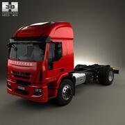 依维柯EuroCargo底盘卡车2013 3d model