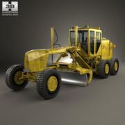 Motoniveladora genérica modelo 3d
