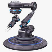로봇 팔 3 3d model
