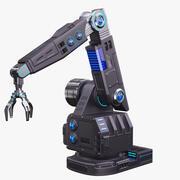 Futurystyczne ramię robota stylizowane 3d model