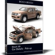 DOSCH 3D - Детали автомобиля - Пикап 3d model