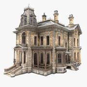 버려진 빅토리아 하우스 3d model
