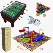 Pack de jeu dynamique 3d model