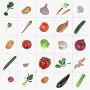 野菜セット 3d model