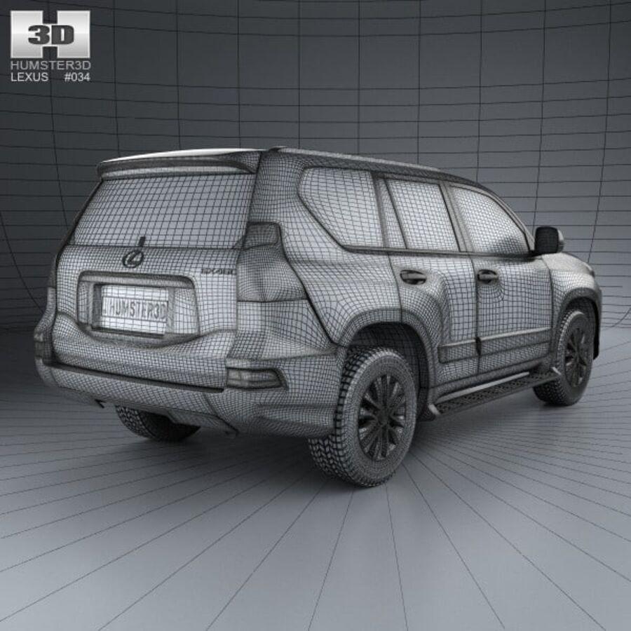 レクサスGX(J150)2014 royalty-free 3d model - Preview no. 4