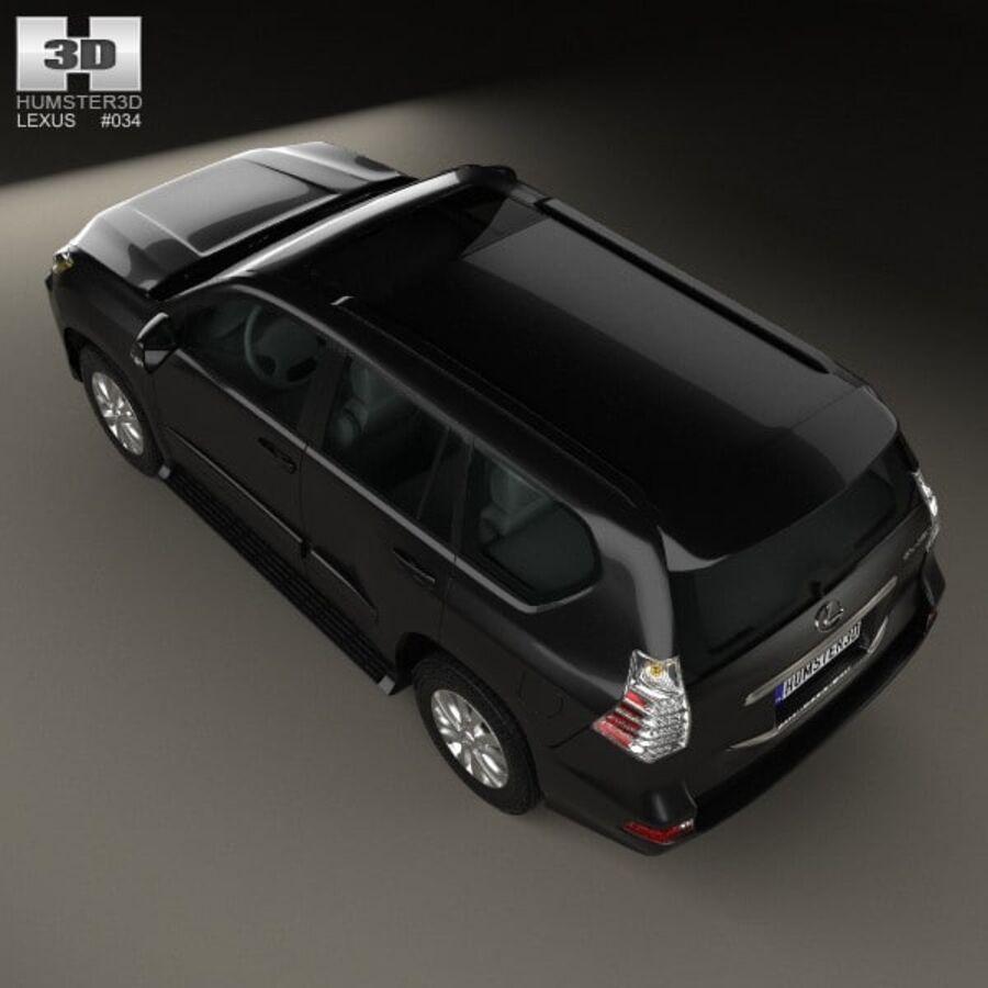 レクサスGX(J150)2014 royalty-free 3d model - Preview no. 9