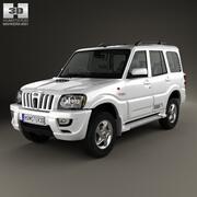 Mahindra Scorpio 2009 3d model