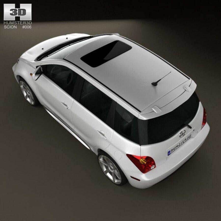 Vástago xA 2006 royalty-free modelo 3d - Preview no. 9