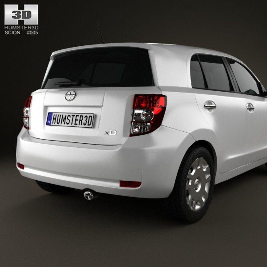 Vástago xD 2012 royalty-free modelo 3d - Preview no. 7