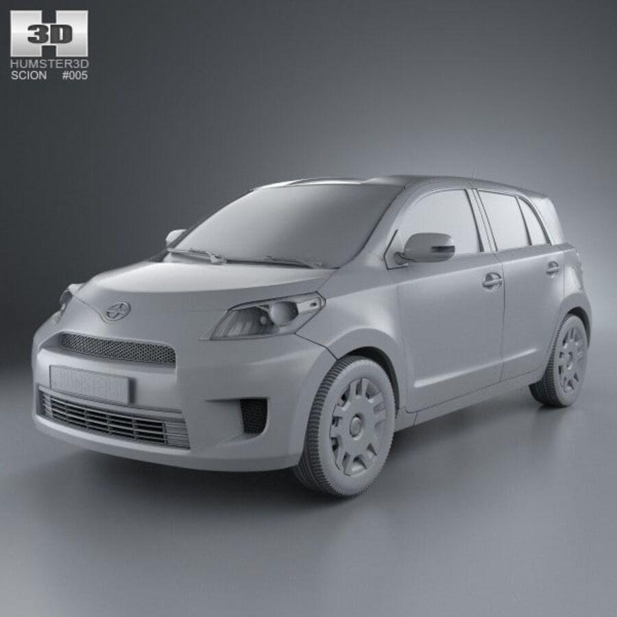 Vástago xD 2012 royalty-free modelo 3d - Preview no. 11