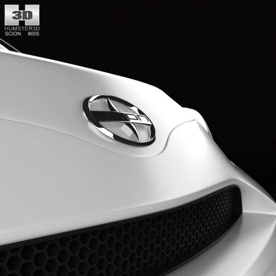 Vástago xD 2012 royalty-free modelo 3d - Preview no. 10