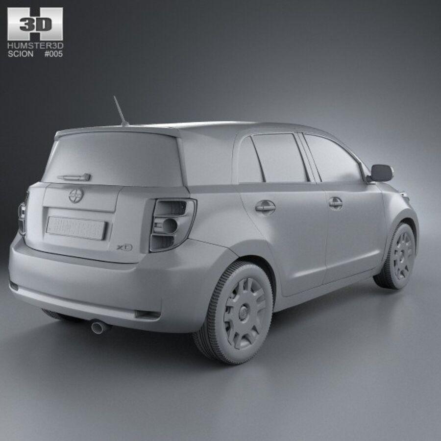 Vástago xD 2012 royalty-free modelo 3d - Preview no. 12
