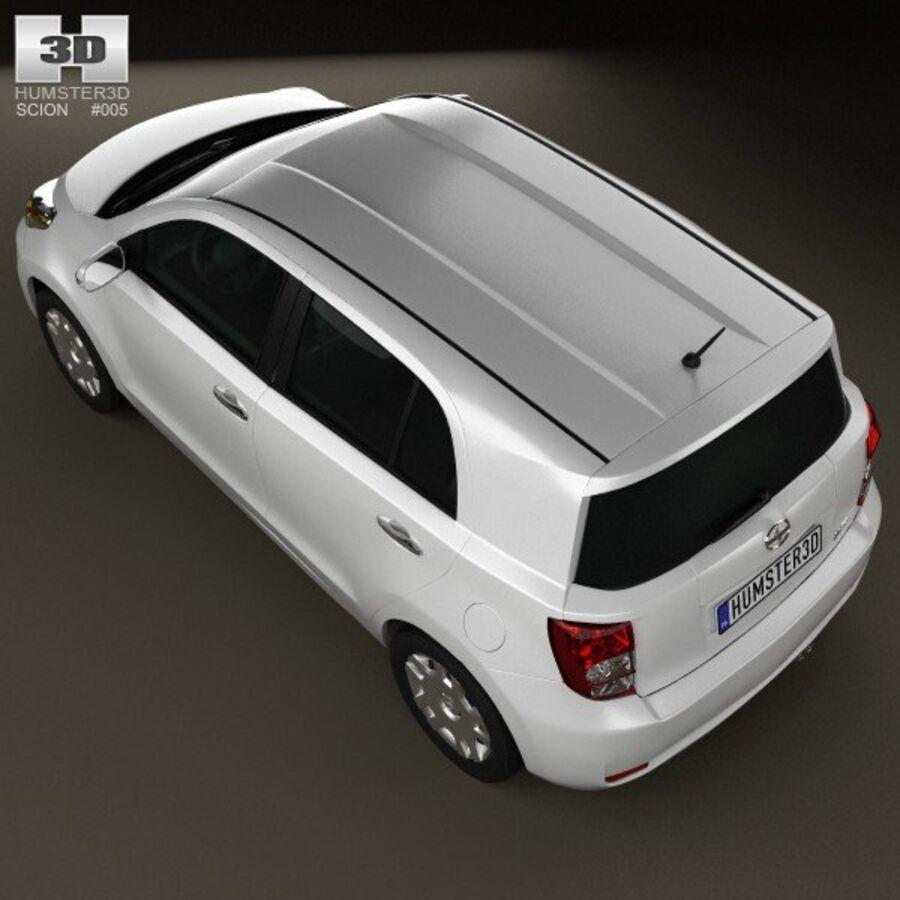 Vástago xD 2012 royalty-free modelo 3d - Preview no. 9
