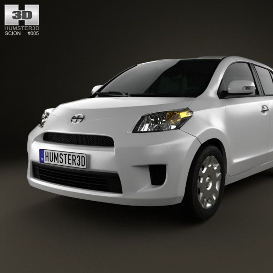 Vástago xD 2012 royalty-free modelo 3d - Preview no. 6