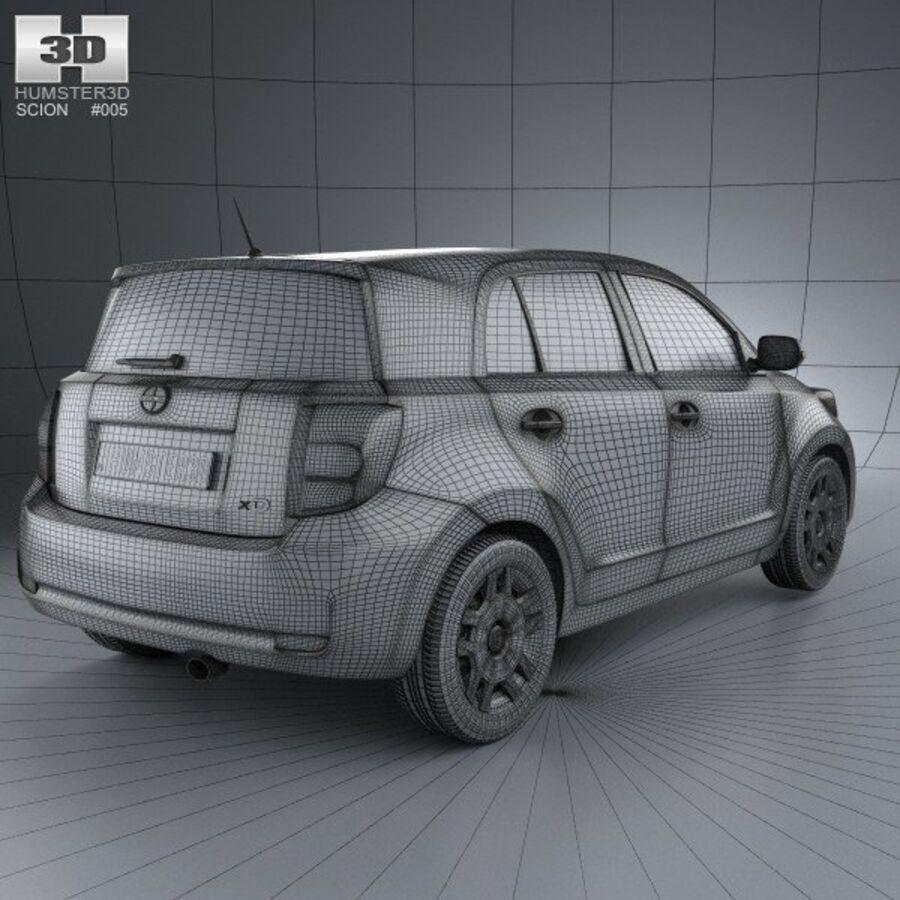 Vástago xD 2012 royalty-free modelo 3d - Preview no. 4