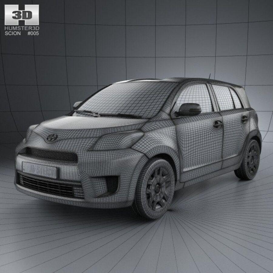 Vástago xD 2012 royalty-free modelo 3d - Preview no. 3
