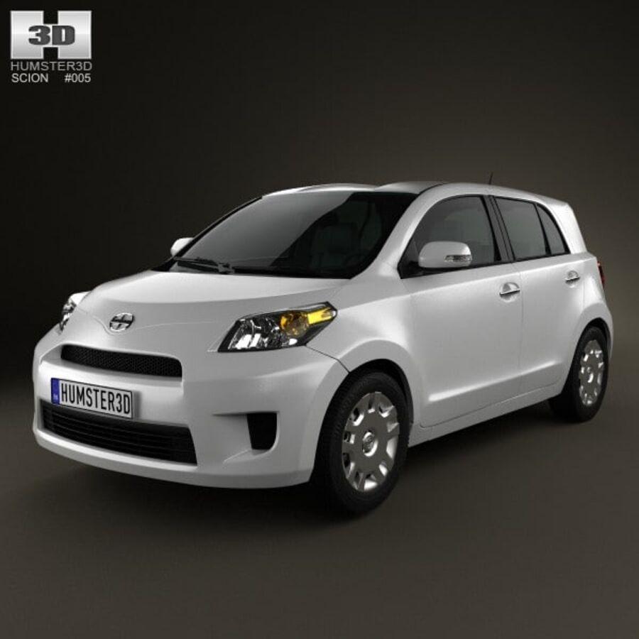 Vástago xD 2012 royalty-free modelo 3d - Preview no. 1