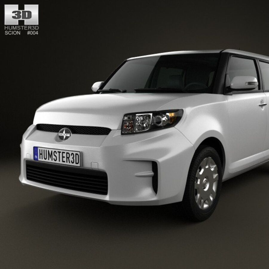 Vástago xB 2012 royalty-free modelo 3d - Preview no. 6