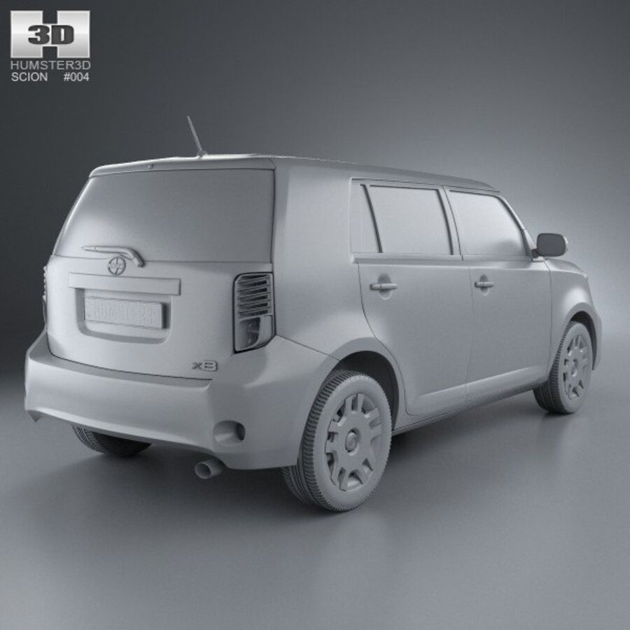 Vástago xB 2012 royalty-free modelo 3d - Preview no. 12