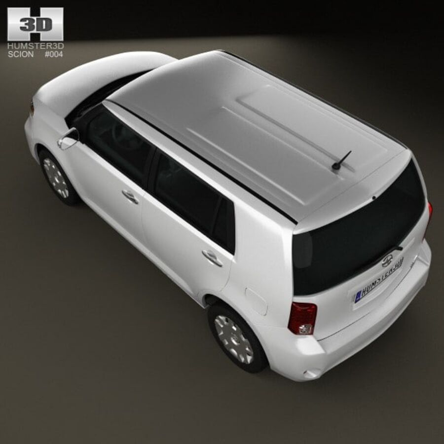 Vástago xB 2012 royalty-free modelo 3d - Preview no. 9