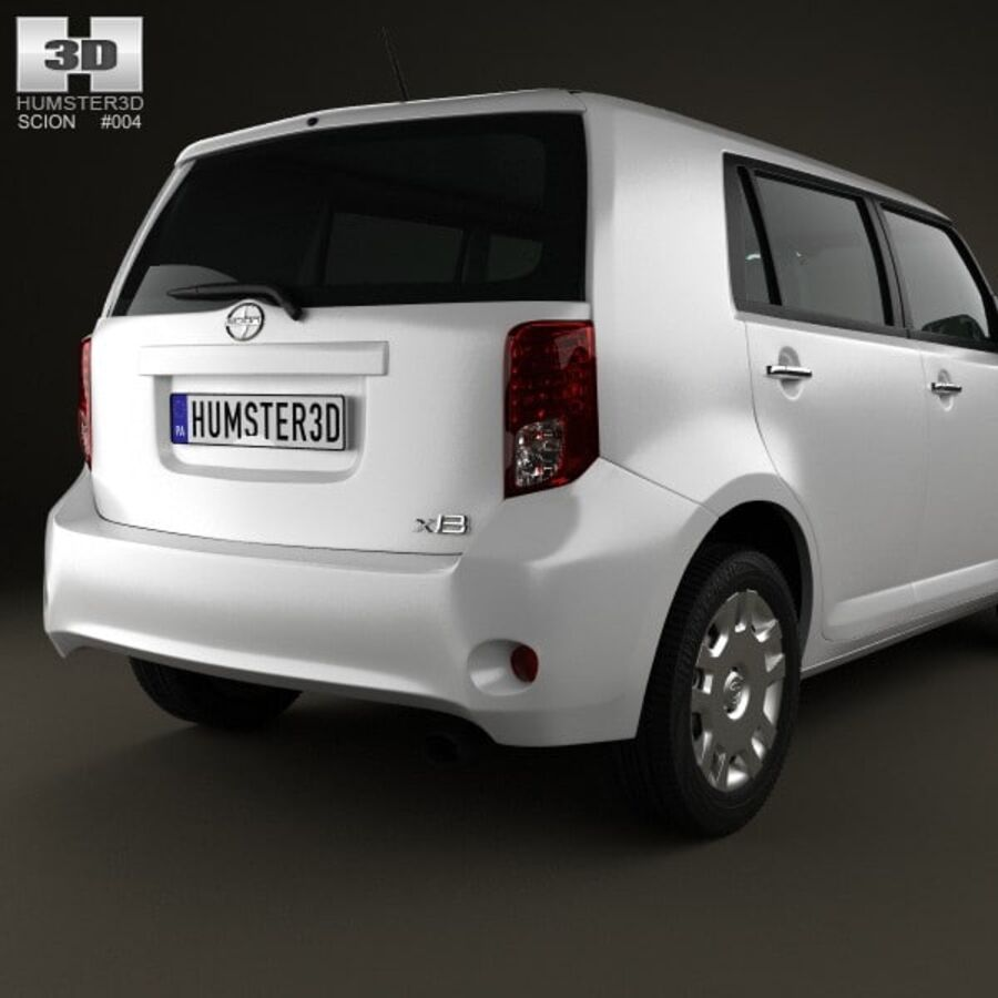 Vástago xB 2012 royalty-free modelo 3d - Preview no. 7