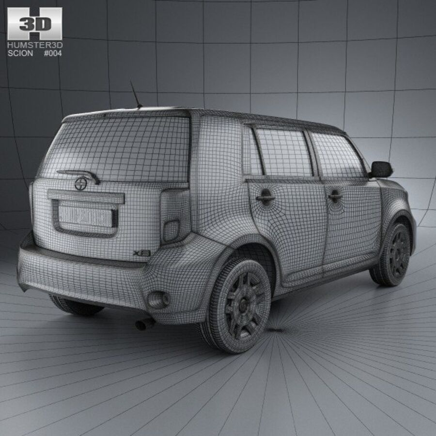 Vástago xB 2012 royalty-free modelo 3d - Preview no. 4