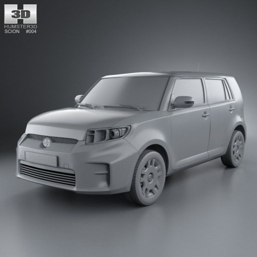 Vástago xB 2012 royalty-free modelo 3d - Preview no. 11