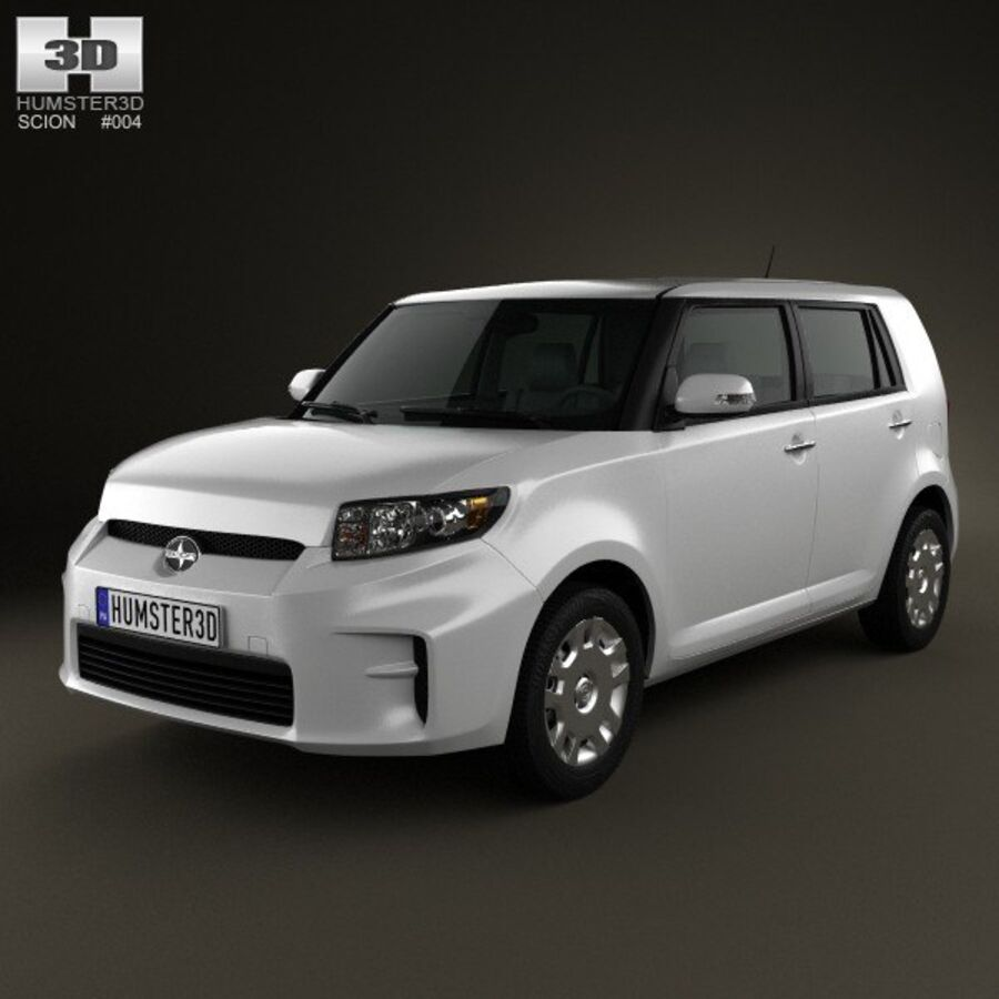 Vástago xB 2012 royalty-free modelo 3d - Preview no. 1