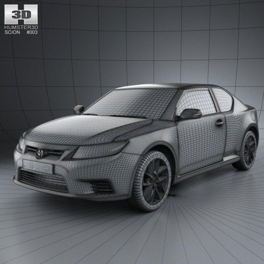 Vástago tC 2012 royalty-free modelo 3d - Preview no. 3