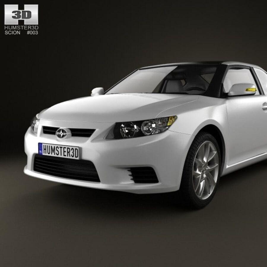 Vástago tC 2012 royalty-free modelo 3d - Preview no. 6