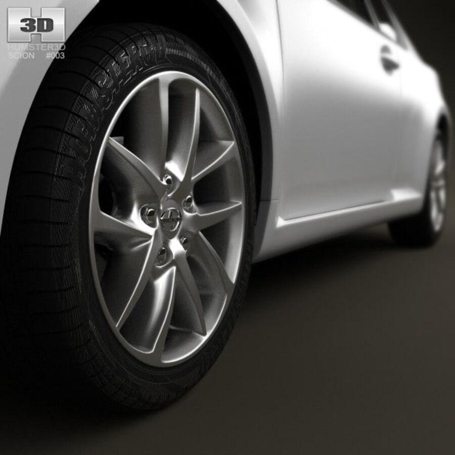 Vástago tC 2012 royalty-free modelo 3d - Preview no. 8