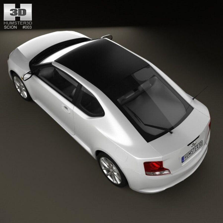 Vástago tC 2012 royalty-free modelo 3d - Preview no. 9