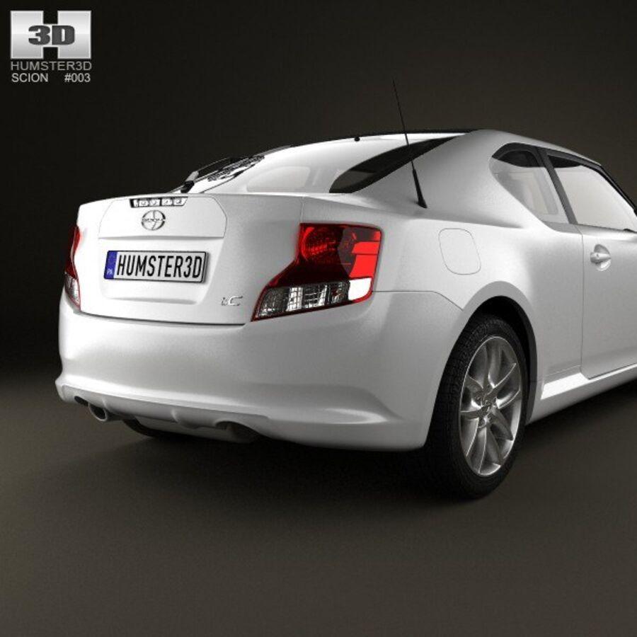 Vástago tC 2012 royalty-free modelo 3d - Preview no. 7