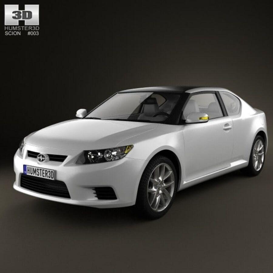 Vástago tC 2012 royalty-free modelo 3d - Preview no. 1