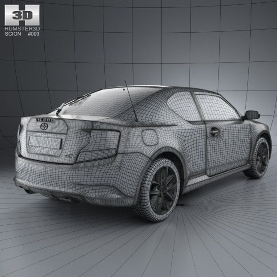Vástago tC 2012 royalty-free modelo 3d - Preview no. 4