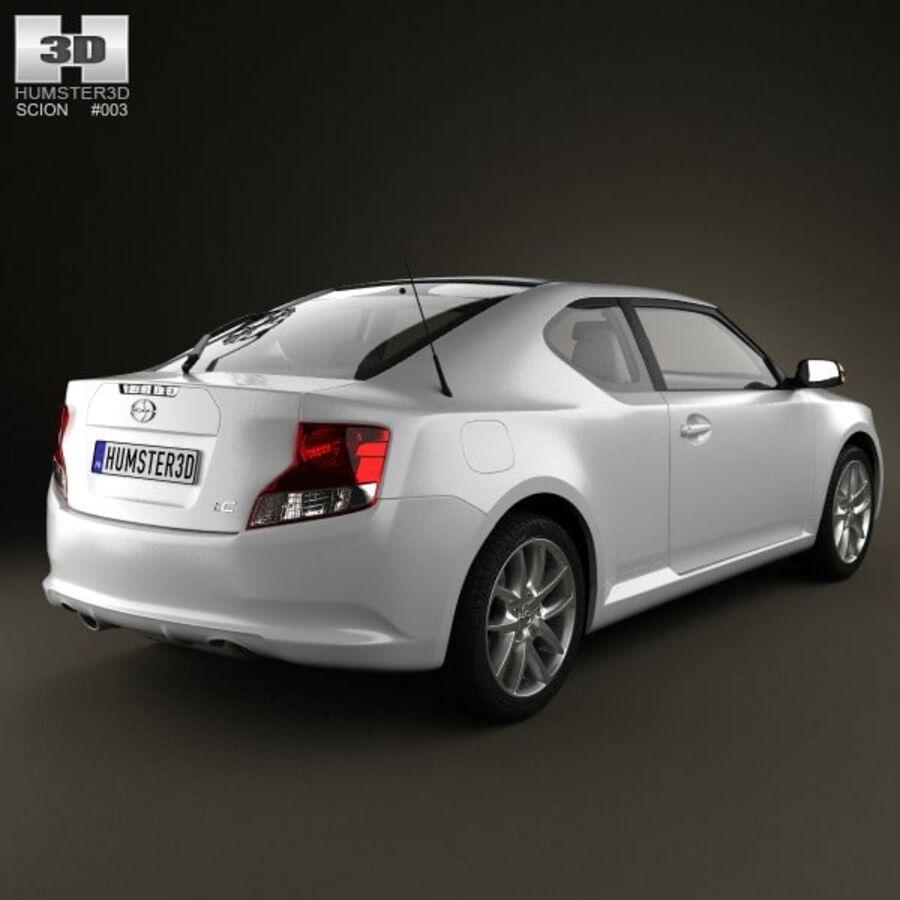 Vástago tC 2012 royalty-free modelo 3d - Preview no. 2