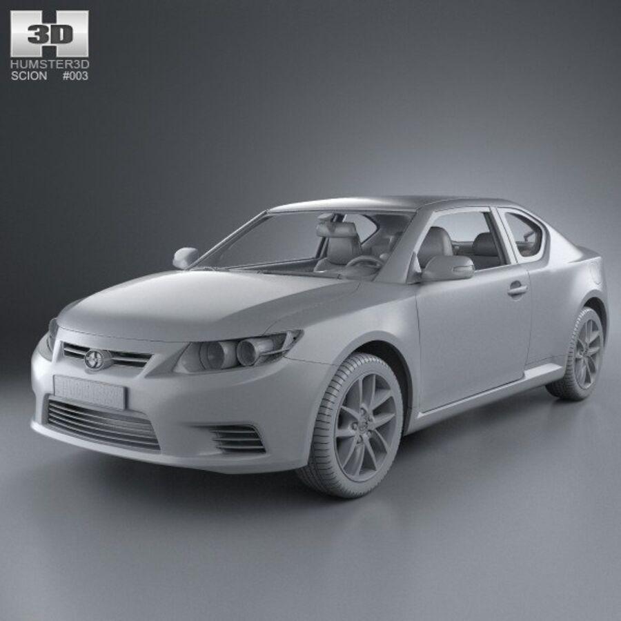 Vástago tC 2012 royalty-free modelo 3d - Preview no. 11