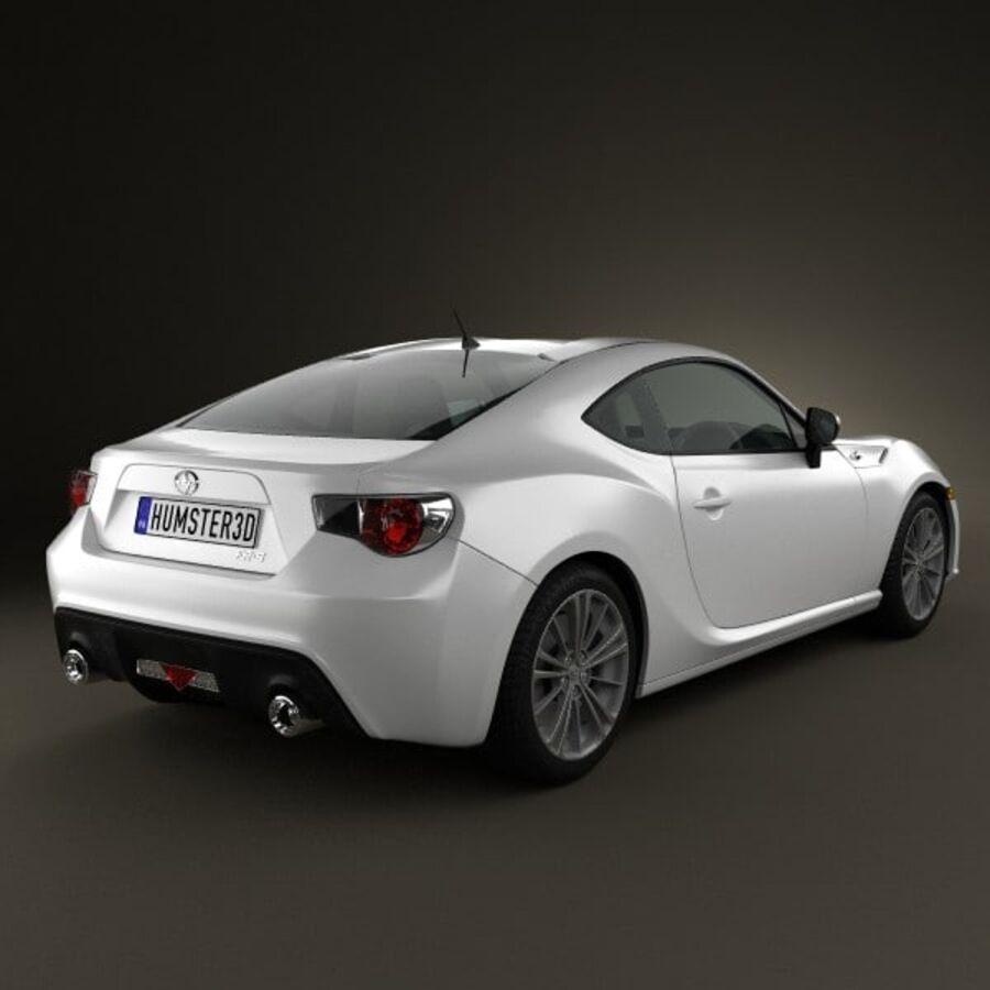 Vástago FR-S 2013 royalty-free modelo 3d - Preview no. 2