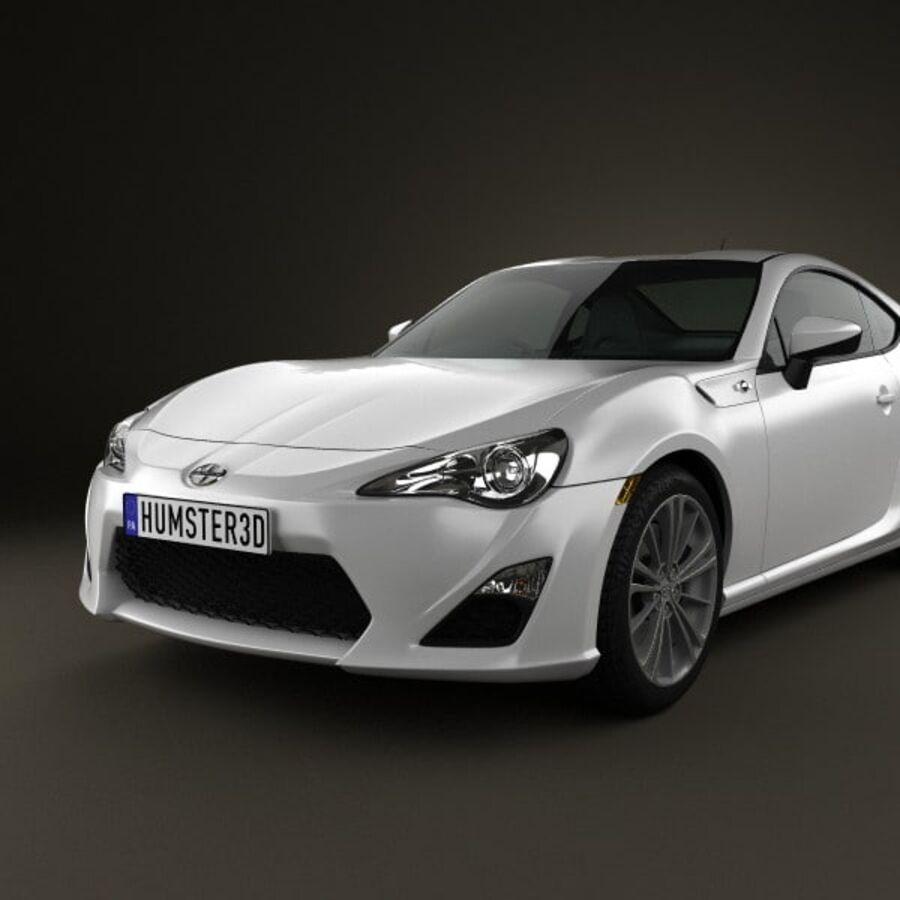 Vástago FR-S 2013 royalty-free modelo 3d - Preview no. 6