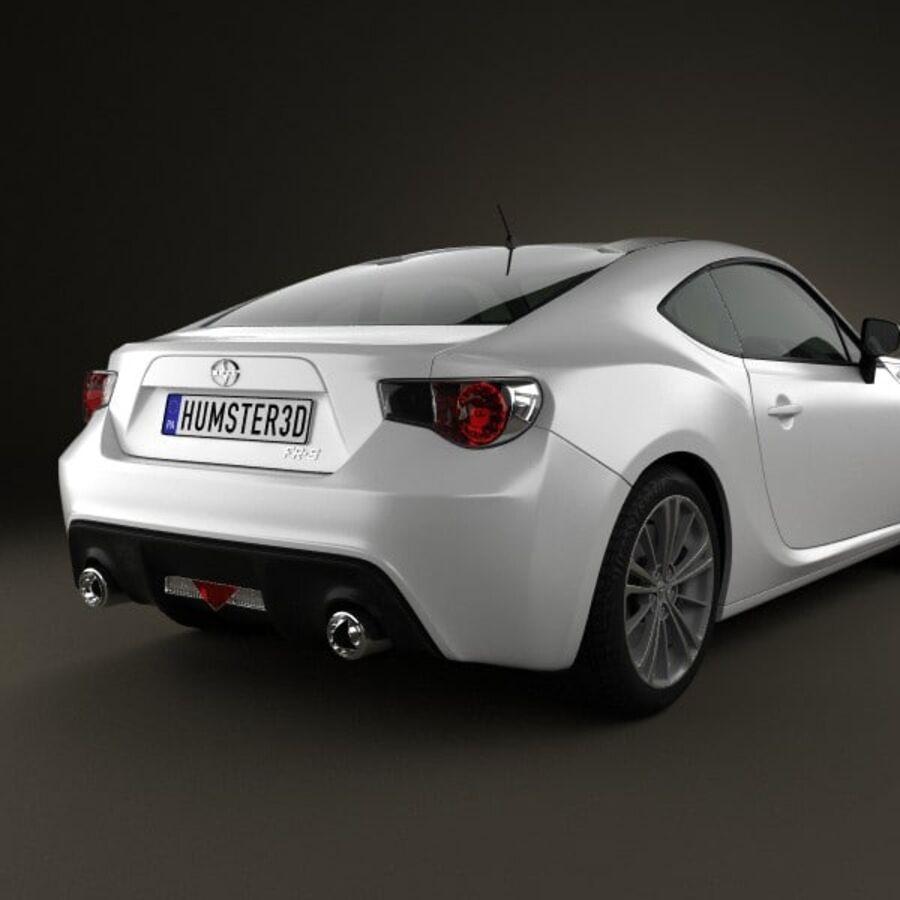 Vástago FR-S 2013 royalty-free modelo 3d - Preview no. 7
