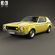 AMC Gremlin 1970年 3d model