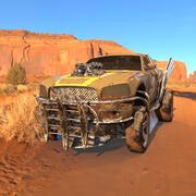 Dodge Charger Wasteland. Estilo Mad Max modelo 3d