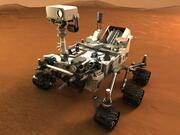 Model 3D łazika marsjańskiego Curiosity 3d model