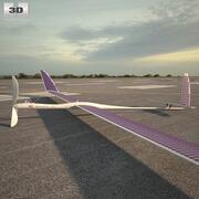 타이탄 항공 우주 Solara 50 3d model