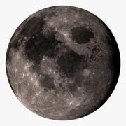 Moon 32K 3d model